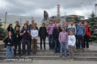 Группа туристов у Саркофагу